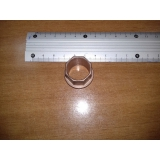 Втулка медная восьмиугольная для колесного вала снегоуборщиков диаметр внутренний 19мм